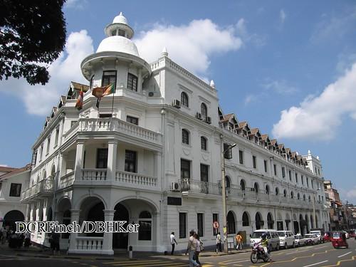 building heritage architecture hotel colonial historic british srilanka ceylon guide kandy kandyan