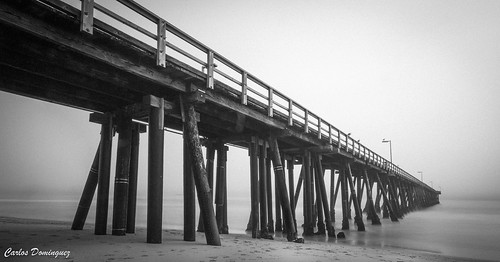 porthueneme hueneme southerncalifornia venturacounty pier ocean pacificocean fog canon ef 1740 f4l 6d ef1740mmf4lusm canoneos6d blackandwhite bw landscape photography long exposure longexposure canon6d canonef1740mmf4l