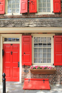 Red doors, red windows   by thejourneyingengineer