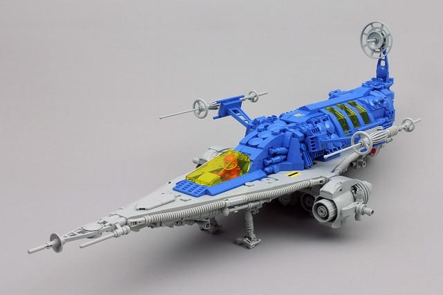 LEGO Classic Space spaceship