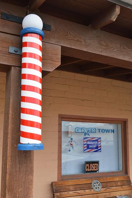 Barbershop in Wickenburg, Arizona