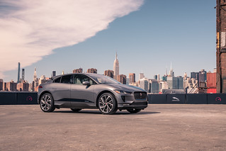 Jaguar - I-PACE takes on smart cone challenge - Image_230318_03 | by jaguarmena