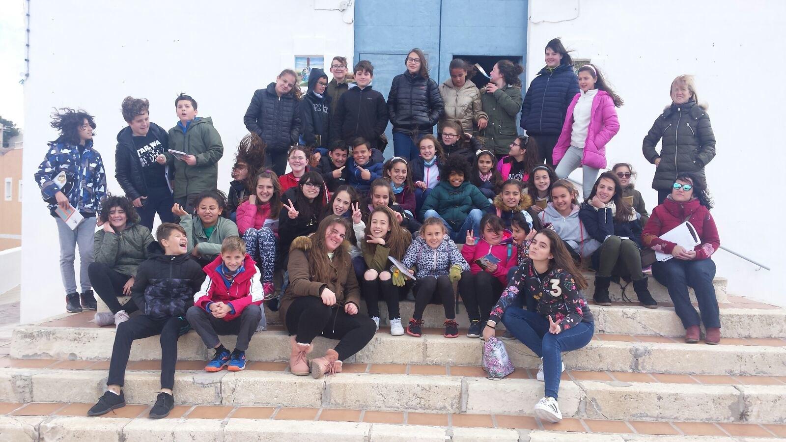 (2018-03-19) - Visita ermita alumnos Yolada-Pilar,6º, Virrey Poveda-9 de Octubre - Maria Isabel Berenquer Brotons - (01)