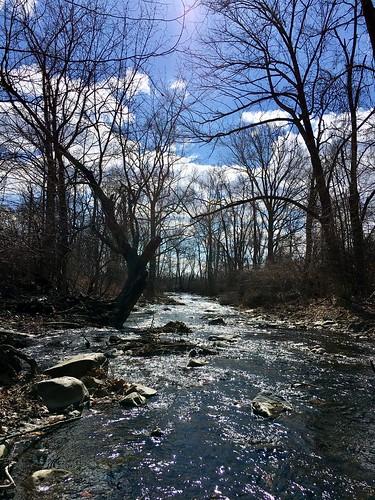 thurmont maryland frederickco streams owenscreek trees iphone