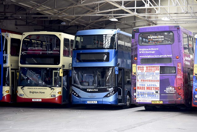 701=SN66 WLK On Loan to Brighton & Hove