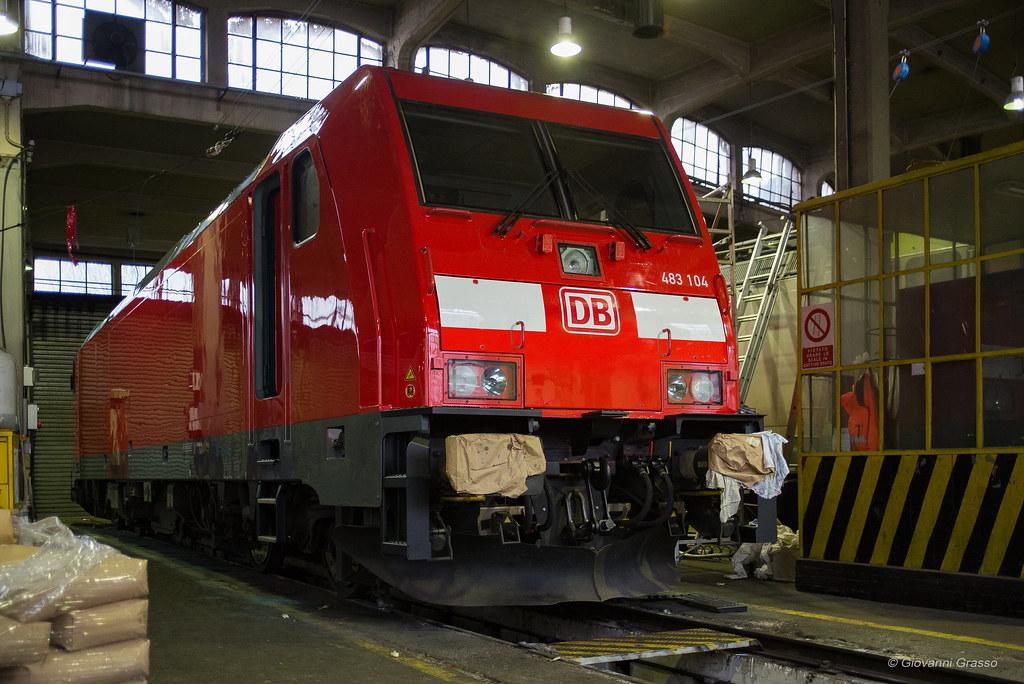 E483 104 db cargo italia asti deposito cambio livrea for B b italia carugo