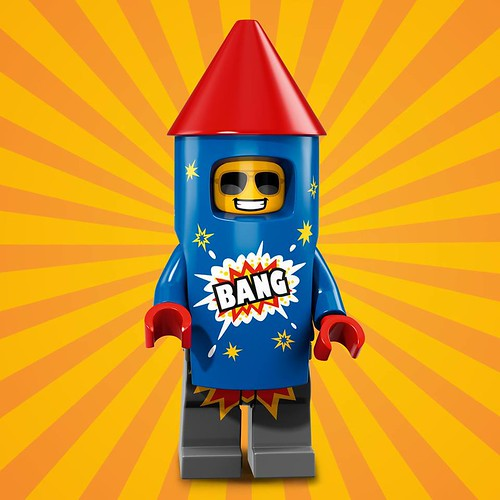 LEGO 71021 Collectible Minifigures Series 18 Fireworks Guy