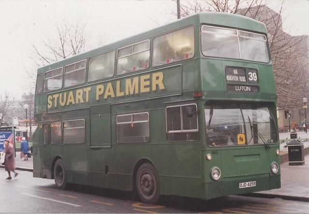 965, OJD 425R, Leyland Fleetline, Park-Royal Body H44-24D, 1977 (t.1995) (DMS 2425)