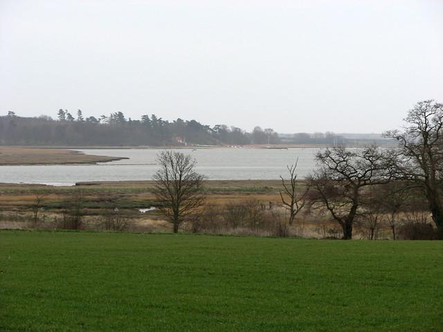 The River Deben near Hemley