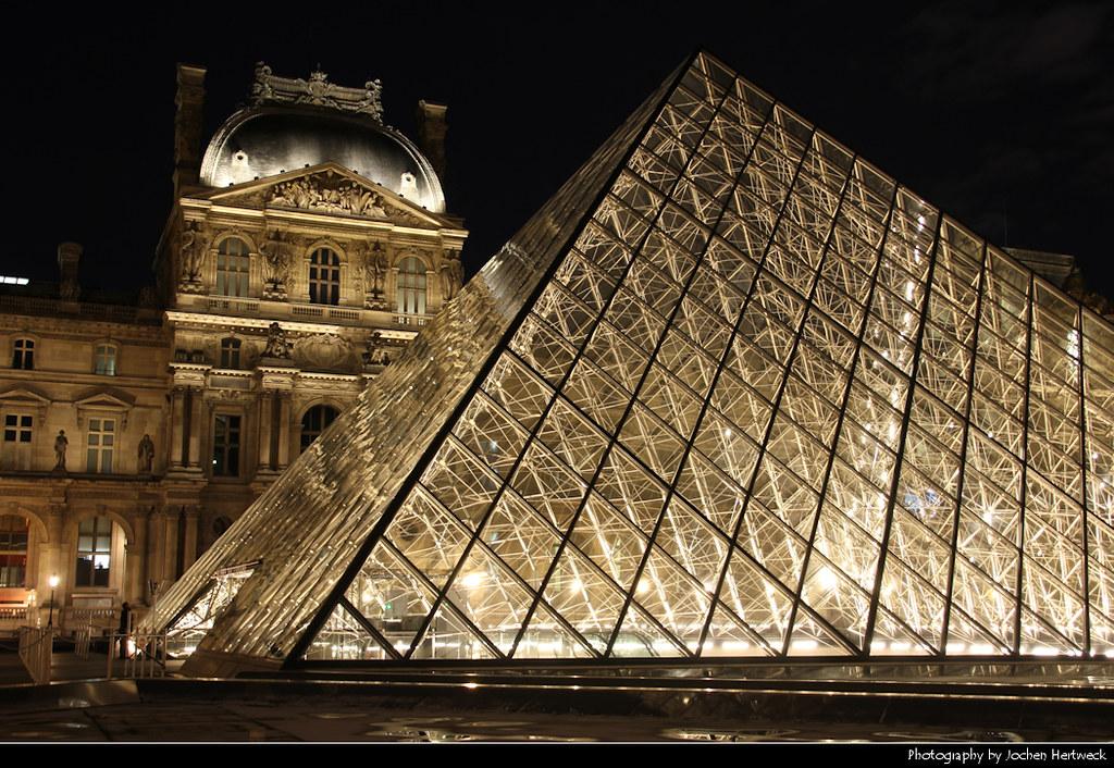 Louvre @ Night, Paris, France