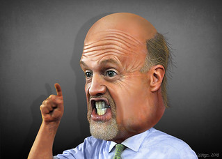 Jim Cramer - Caricature