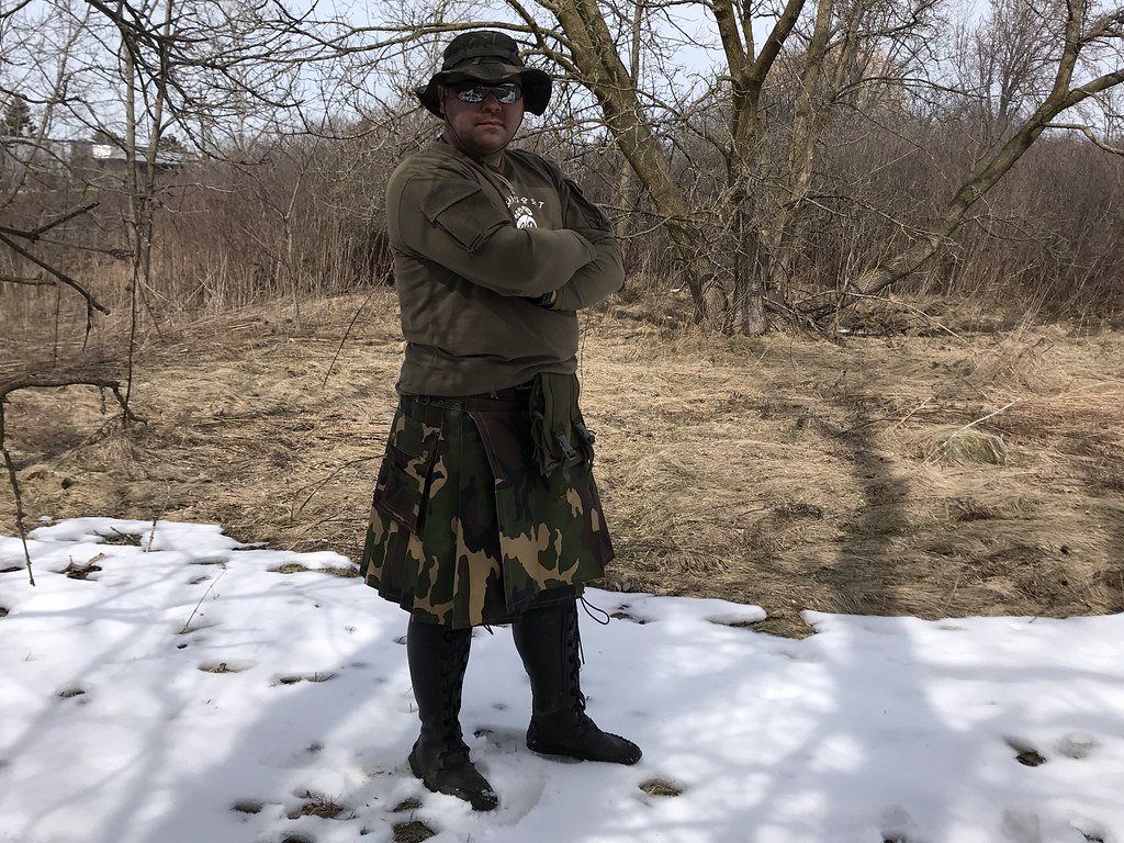 DPM camouflage kilt    Wolfmaan   Flickr