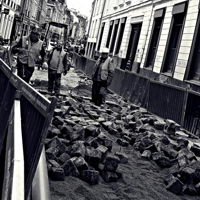 Les pavés du vieux-Lille se refont une beauté