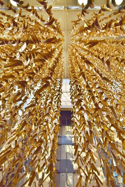 Birds in Flight by Micheline Beauchemin 1978, North York Civic Centre, 5100 Yonge Street, North York, Toronto, ON