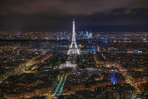 city longexposure night photography cityscape urban ilcea7m2 tower eiffel aerial tour paris view