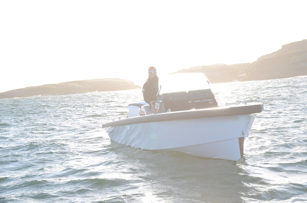 Goldfish 23 Tender Build no  078 | Evinrude E-tec 250HO G2 M