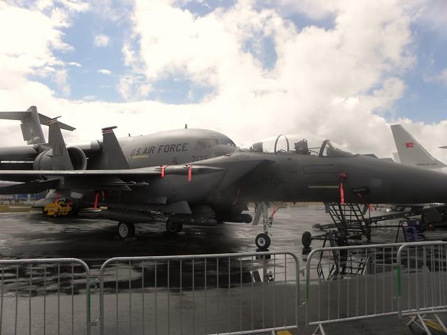 US Military aircraft at the 2010 Farnborough airshow