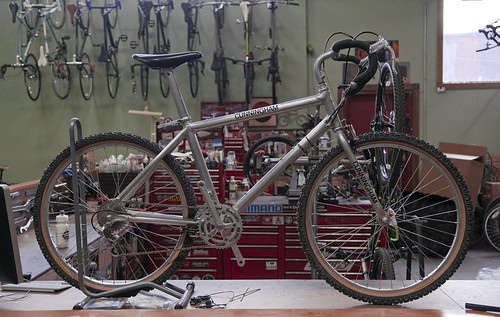 Vintage Cunningham MTB @ Monkey Wrench Cycles (Lincoln, NE) | by scurvy_knaves