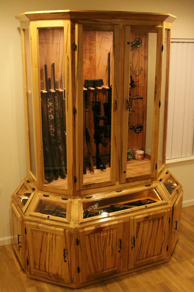 ... Nateu0027s Custom Gun Cabinet   By BK2Bennett
