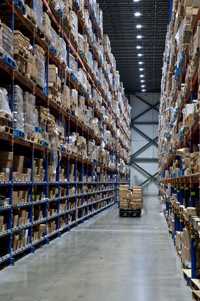 LED High-bay Lighting in Cold Storage Warehouse   new LED hi…   Flickr