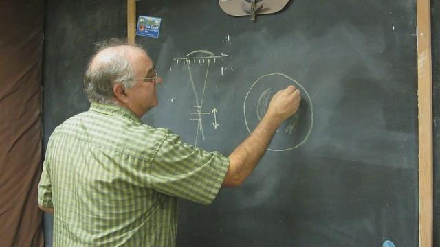 MVI_2642 SBAU Tim Crawford discusses telescope mirror test zones
