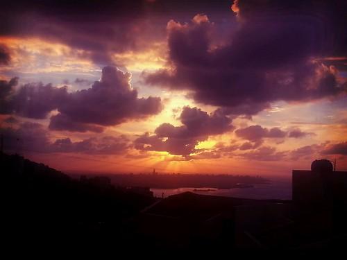 sunset sea sun fall nature colors clouds season day cloudy beirut seaport cloudyskies skysight flickrandroidapp:filter=beijing