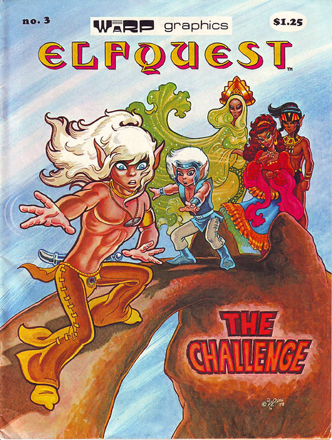 Comic Book Cover Elf Quest 3 1978