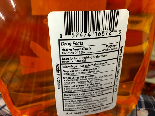 Antibacterial Soap Triclosan | by JeepersMedia