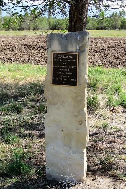 Kit Carson Original Gravesite