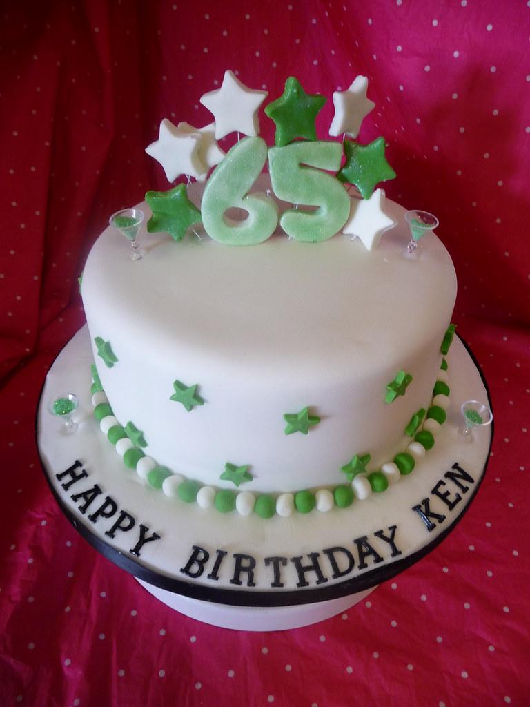 Stupendous 65Th Birthday Cake Lorna Moodie Flickr Funny Birthday Cards Online Drosicarndamsfinfo