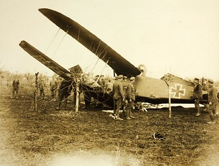 World War One Aircraft crash German in Italy   by San Diego Air & Space Museum Archives