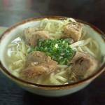 昨日は「沖縄そばの日」だったけど沖縄そば食べれなかったので、今日は久しぶりにブラジル食堂へ♪ソーキそば♪ #okinawa #mobile #photo #food