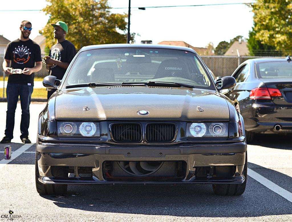 Bmw E36 3 Series With Carbon Fiber Hood Shaun Rodecker Flickr