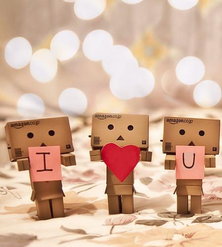 Boneka Danbo Cinta I Love You Foto Wallpaper Munaw Nyaw Flickr