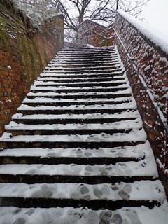 Greenway steps   by diamond geezer