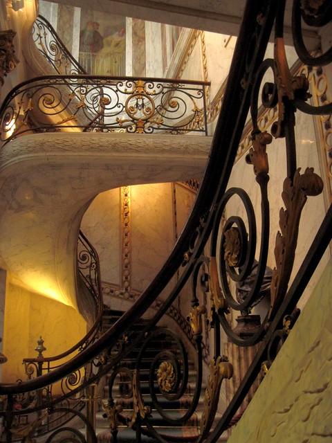 Stairs in Jacquemart-André museum, Paris 17th [Explore 21/01/2013]
