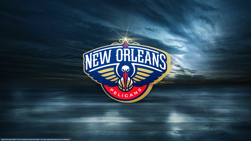 New Orleans Pelicans Logo Wallpaper Ryanhurstdesigns Flickr