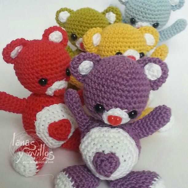 Mr and Mrs. Valentine Heart Crochet Heart Amigurumi Doll | Etsy | 612x612