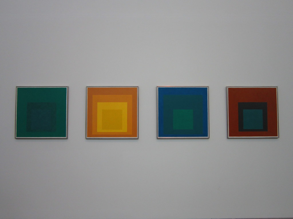 Josef Albers' Studies for Homage to the Square
