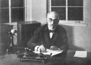 President James A. Blaisdell in 1925
