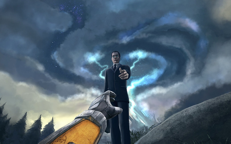 G-man из Half-life 2