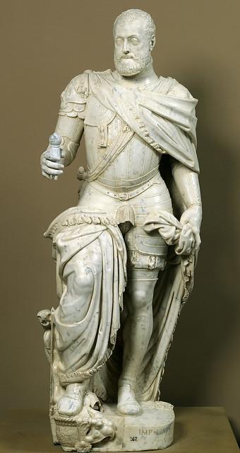 Leone Leoni - emperor Charles V  [1553]