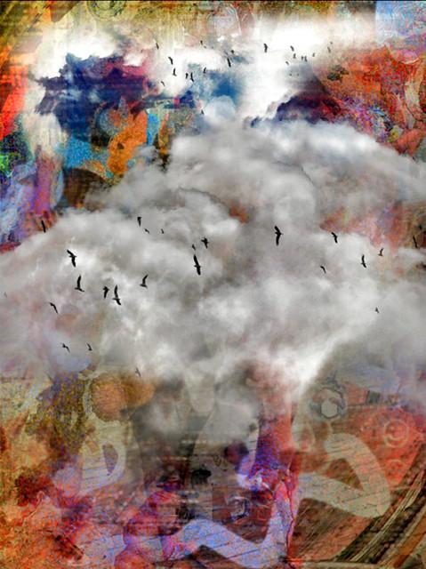 The Birds- iPad Art by David Scott Leibowitz
