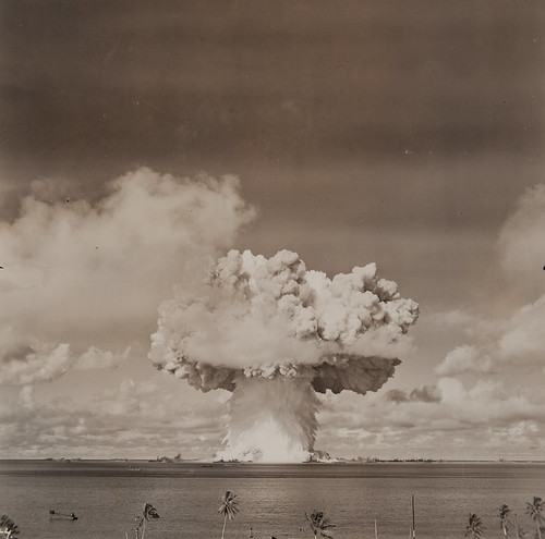 Atomic bomb blast at Bikini Island | by Museum of Photographic Arts Collections