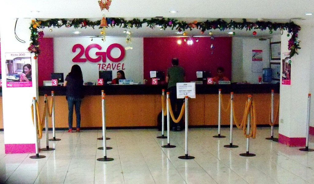 2GO Travel ticket office in Pier 4, Cebu | mbb8356 | Flickr