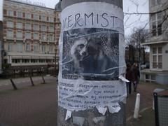 vermiste wasbeerhond, Amsterdam