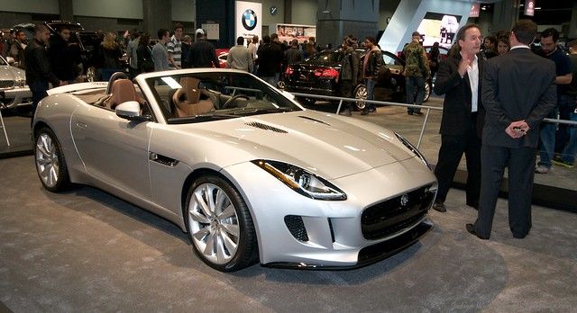 2013 Washington Auto Show - Lower Concourse - Jaguar 10