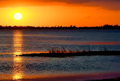 sunset gulfofmexico clouds florida pineland