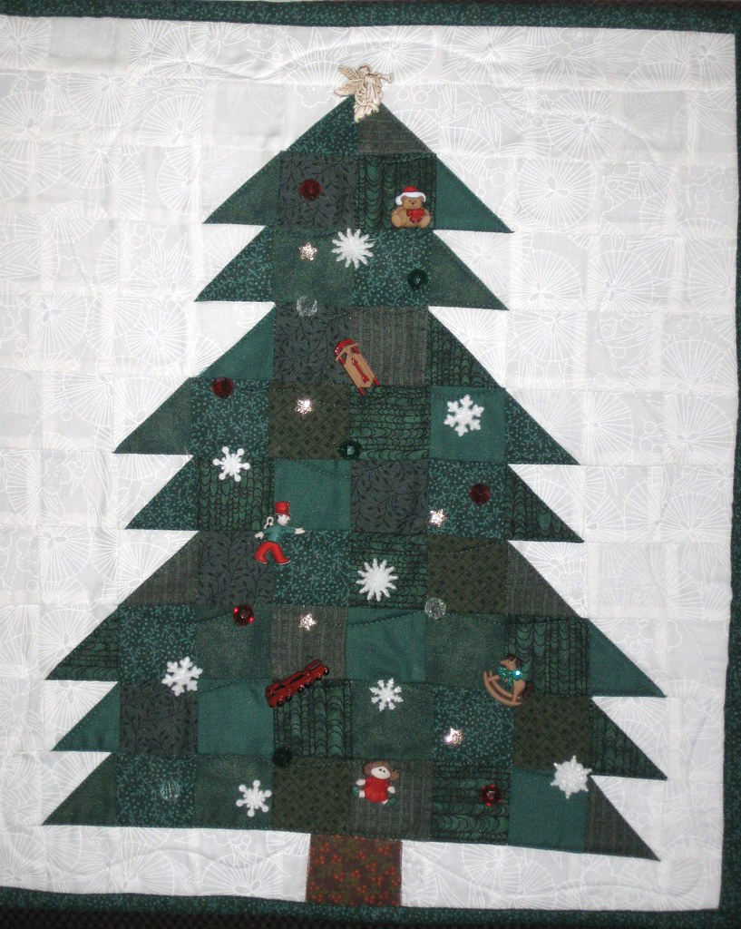 B 1 I Have Wanted A Christmas Tree Wallhanging For Several Flickr