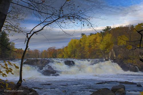 fall automne river landscape paisaje rivière paysage rivieredunord stjérome festivaldescouleurs thefallcolorsshow